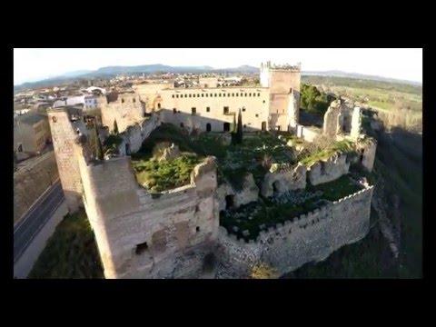 Castillo-palacio de Escalona - Castilla la Mancha Toledo 4k 60fps
