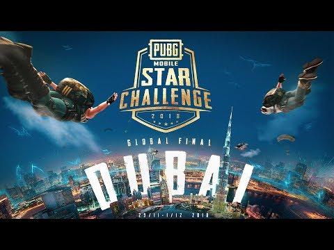 PUBG MOBILE STAR CHALLENGE GLOBAL FINALS DUBAI DAY 1