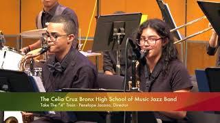 Celia Cruz Bronx HS of Music Jazz Band-2019 Lehman College Johnny Pacheco Jazz Festival