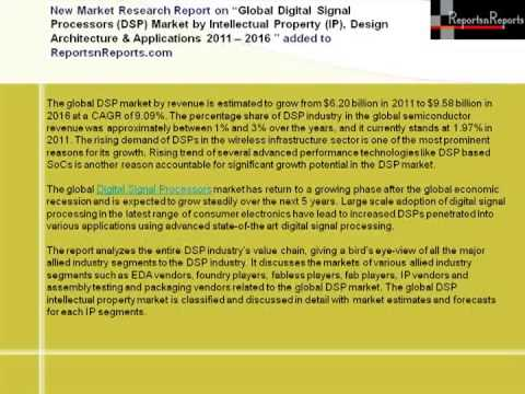 Digital Signal Processors Market 2016