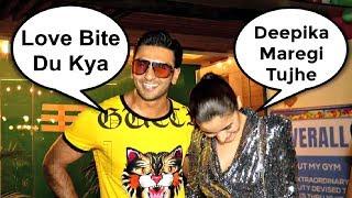 Ranveer Singh Flirts With Female Reporter
