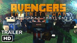 AVENGERS Infinity War TRAILER in MINECRAFT Minecraft Animation