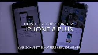 Gambar cover How to Setup iPhone 8 Plus from Another iPhone w/ Quick Start