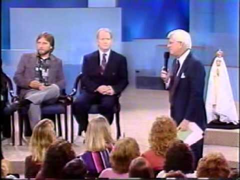 Mike Freze-The Phil Donahue Show-NY-Sacred Stigmata-Miracles Of The Sun-Author