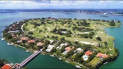 """38 Indian Creek - Live in Miami's """"BILLIONAIRE BUNKER"""" - Mansion Listed by Nelson Gonzalez"""
