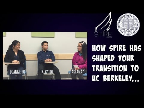 How SPIRE has shaped your transition to UC Berkeley...