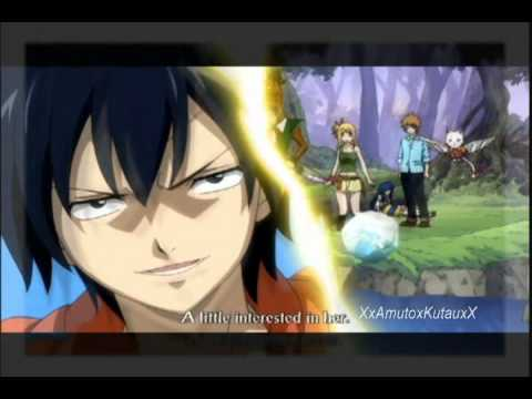 Gray S Interested In Lucy In Anime Fairy Tail
