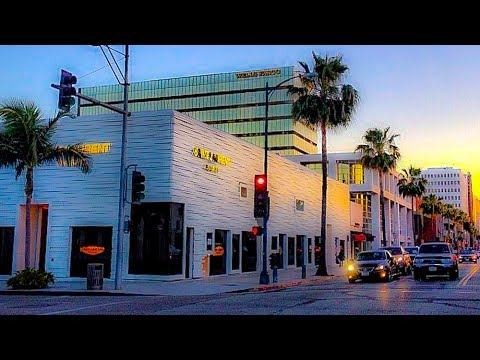 A Walk Around the Intersection of Rodeo Drive & Little Santa Monica, Beverly Hills