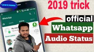 how to add audio on whatsapp status 2019 (dj nath creation)
