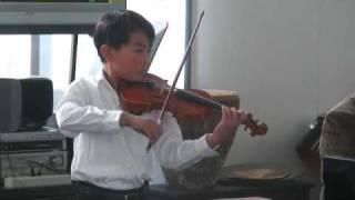 Daniel Gao played Seitz violin concerto No. 3