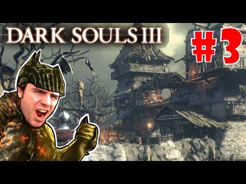 Dark Souls 3 gameplay: ASENTAMIENTO DE NO MUERTOS + Boss increíble! EP.3