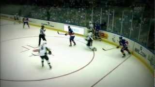 Sidney Crosby  HEAD SHOT injury(Sidney Crosby se fait headshot par un tir et est blesser., 2012-03-30T00:17:46.000Z)