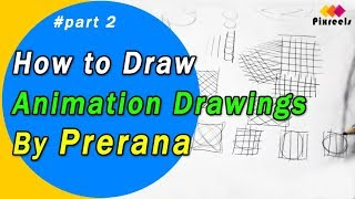 The best exercise to Improve your animation drawings for Beginners | #part2 | By Prerana | pixreels