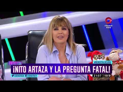 ¡Nito Artaza y la pregunta fatal!