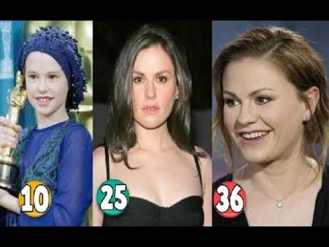 Download Anna Paquin ♕ Transformation From 10 To 36 Years OLD