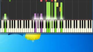 Gloria Estefan   Can't Stay Away From You [Synthesia Piano] [Piano Tutorial Synthesia]