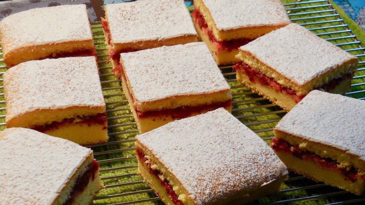 スポンジ ケーキ ビクトリア