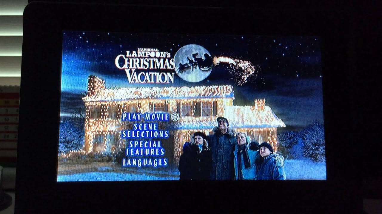 opening to christmas vacation uk dvd 2003 - National Lampoons Christmas Vacation Dvd