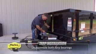 Big Tex How To: Install Dump Tarp
