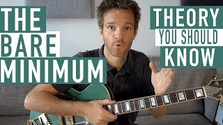 The Minimum Music Theory You Should Know