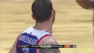 14.03.2019 / Maccabi FOX Tel Aviv - Anadolu Efes / Adrien Moerman