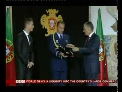 Portugal honours Ronaldo with Order of Prince Henry