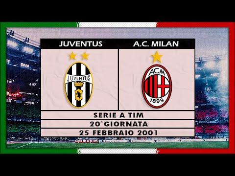 Serie A 2000-01, Juve - AC Milan (Full, SD, RU)