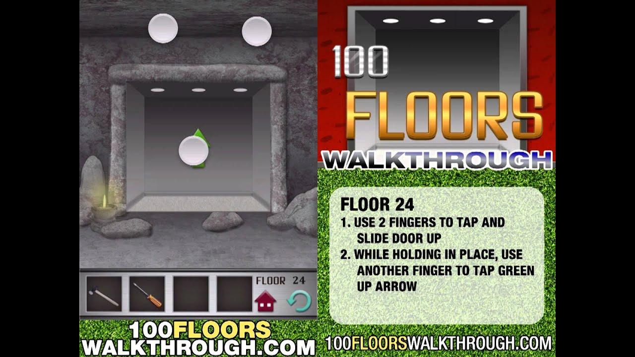 Floor 24 Walkthrough 100 Floors Walkthrough Floor 24