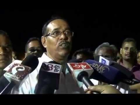 Subrat Bakshi at Tamluk in vote campaign, Raghu Nandan Mallick