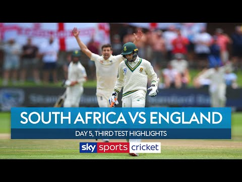 England seal victory to take series lead! | South Africa vs England | Day 5, 3rd Test Highlights