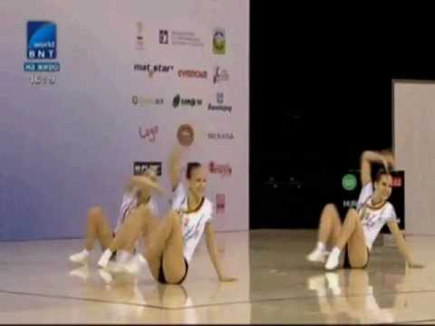 TR AG2 Hungary 2 MOLNAR DEAK NAGY Final Sofia Aerobic World