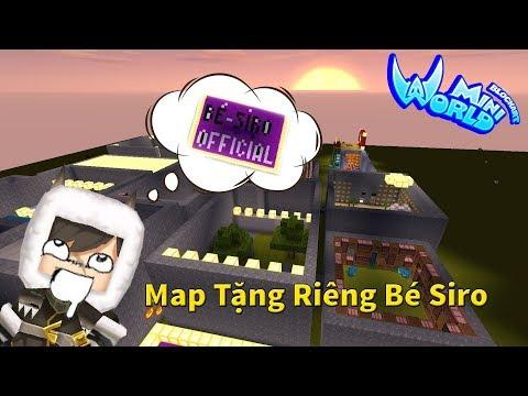 [MiniWorld] Truy Tìm Tượng Totem - Map Dành Tặng Bé Siro