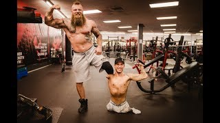 Triple Amputee Chest Workout | Nick Santonastasso & That1LegMonster