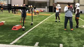 Tennessee football: Vol practice highlights 12-13-19