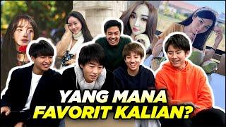 REAKSI COWOK JEPANG LIAT ARTIS & YOUTUBER CEWEK INDONESIA 2! (Natasha Wilona, dll)