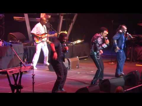 """THE COMMODORES """"Lady"""" at Hard Rock Live -Florida-10-14-2016"""