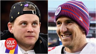 Should Joe Burrow 'pull an Eli Manning' to avoid playing for the Bengals? | Golic and Wingo