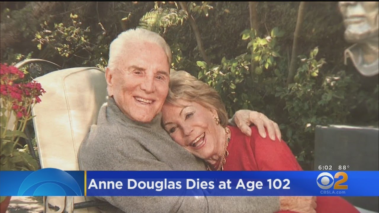Anne Douglas, widow of late actor Kirk Douglas, dies at 102