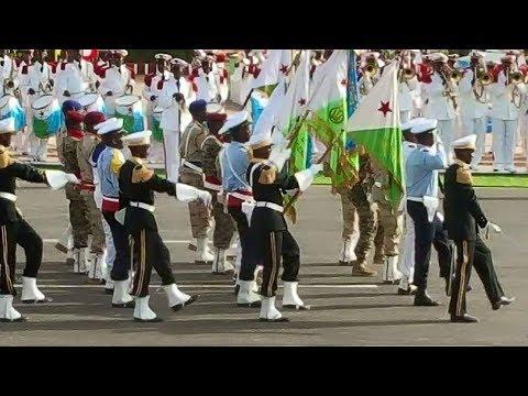 Djibouti: Le Défilé Militaire  Célébration du 40 ème anniversaire.   27/6/2017