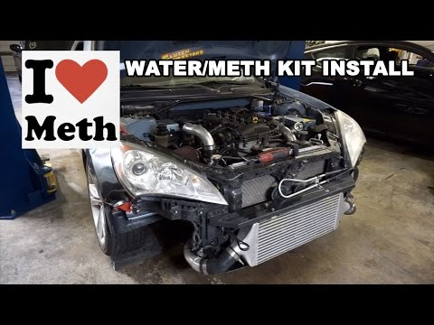 Straight Outta Copart Genesis Coupe gets METH INJECTION