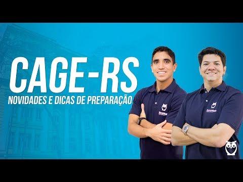 Concurso CAGE-RS: Novidades e Dicas de Preparação