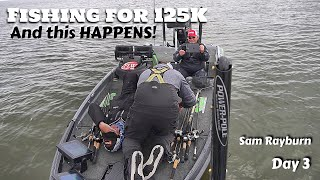 Big Bass, Big Competition and a BIG MISTAKE - FLW Sam Rayburn Final