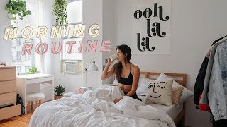 work from home morning routine