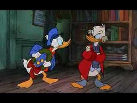 Christmas Carol Scrooge Mcduck.Scrooge Mcduck Bah Humbug