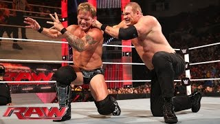 Chris Jericho vs. Kane: Raw, Sept. 15, 2014