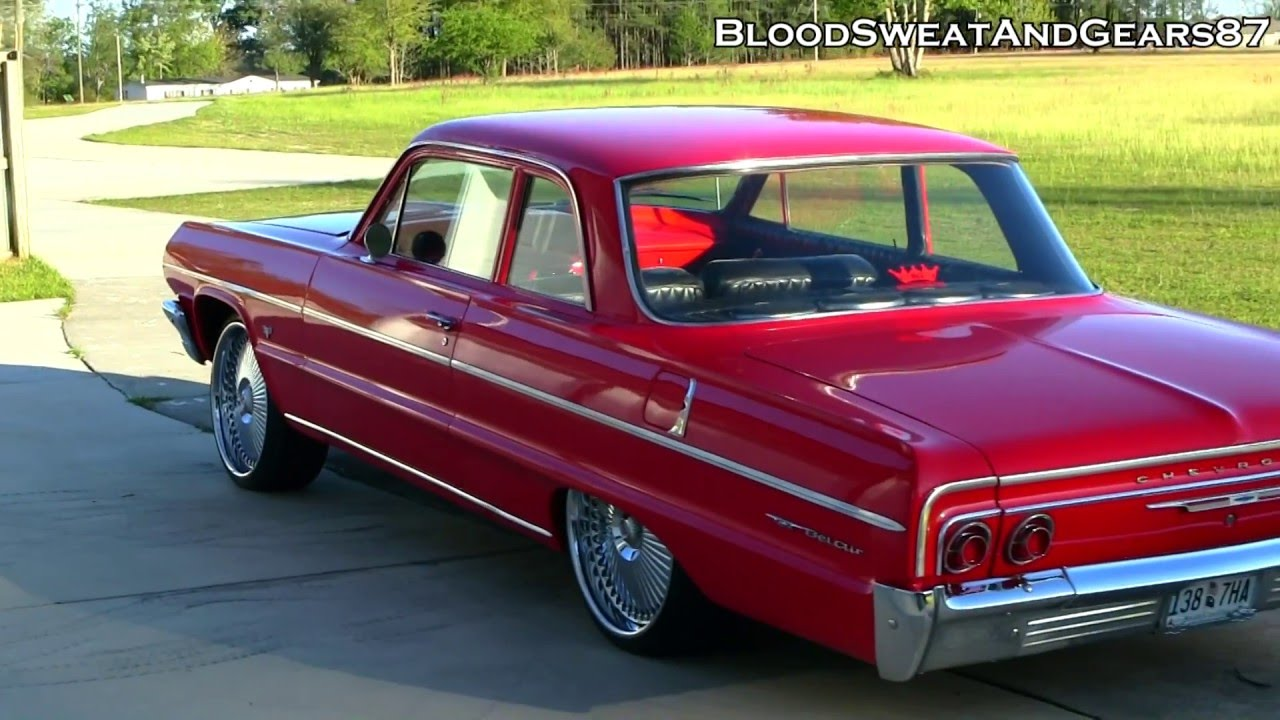 All Chevy chevy bel air 1964 : My 1964 Chevrolet Bel Air SQUATTED on DUB Bellagio 22s (64 Chevy ...