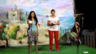 Барзовка 3 смена 2014 детский мюзикл