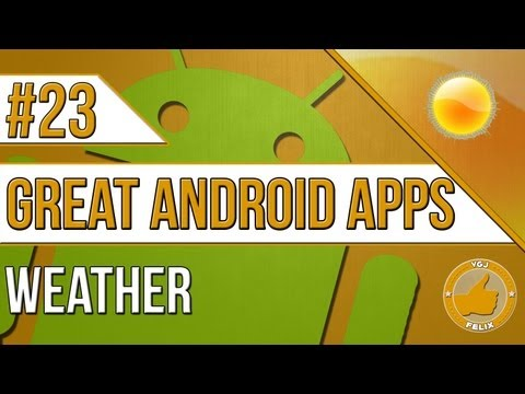 Tablet Android Apps: #23 Weather - Nexus 7