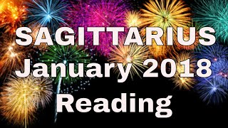 Sagittarius Reading January 2018 ~ Passion, Passion, Passion ~ Tarot by Sonia Parker