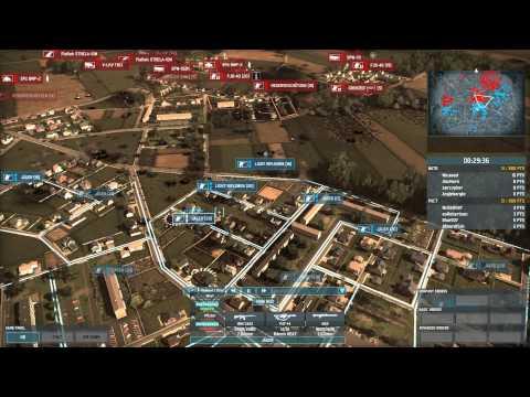 Wargame: Airland Battle, Copenhagen Conquest Gameplay